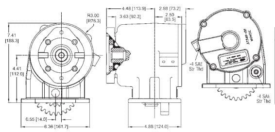 Muncie GA GM Dimensions